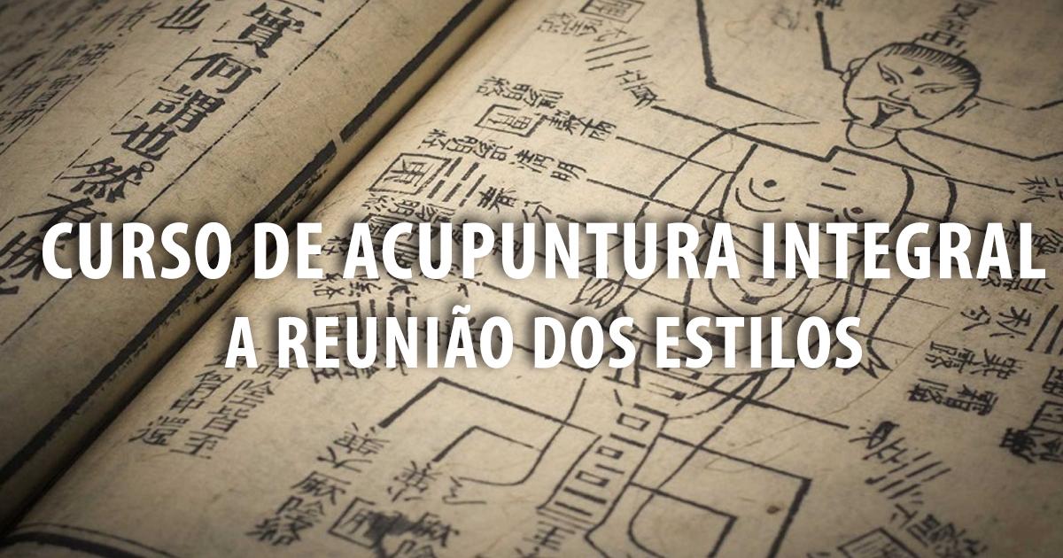 CURSO DE ACUPUNTURA RIO DE JANEIRO NITERÓI